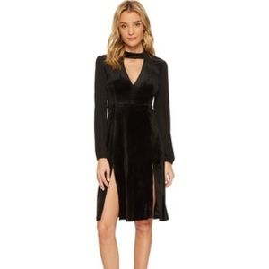 NWT BB Dakota Sherwood Velvet Choker Dress